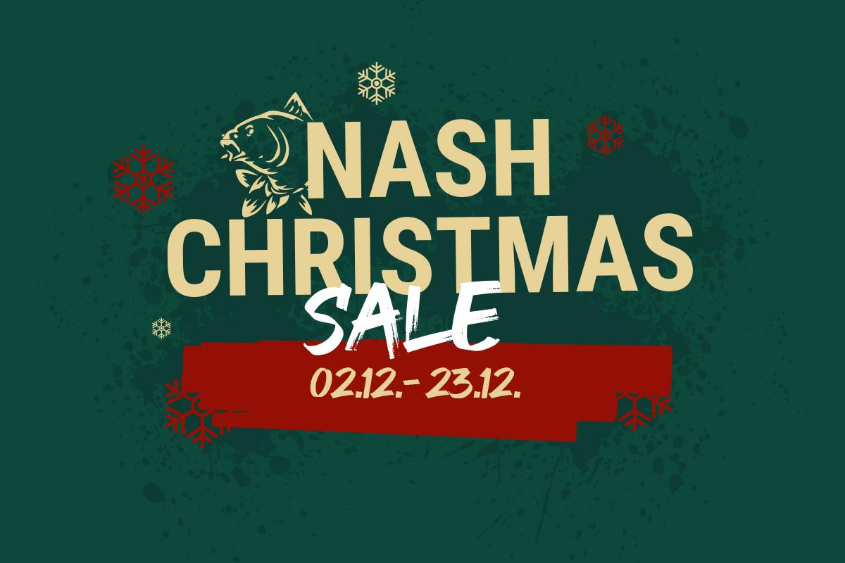 Karpfentackle unterm Weihnachtsbaum? Bei uns steigt der Nash Christmas Sale!